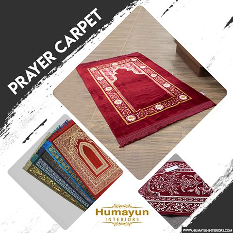 Prayer Carpet - Humayun Interior
