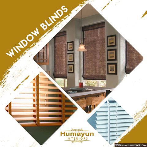 Window Blinds - Humayun Interior