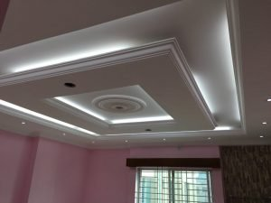 False Ceiling in the Room