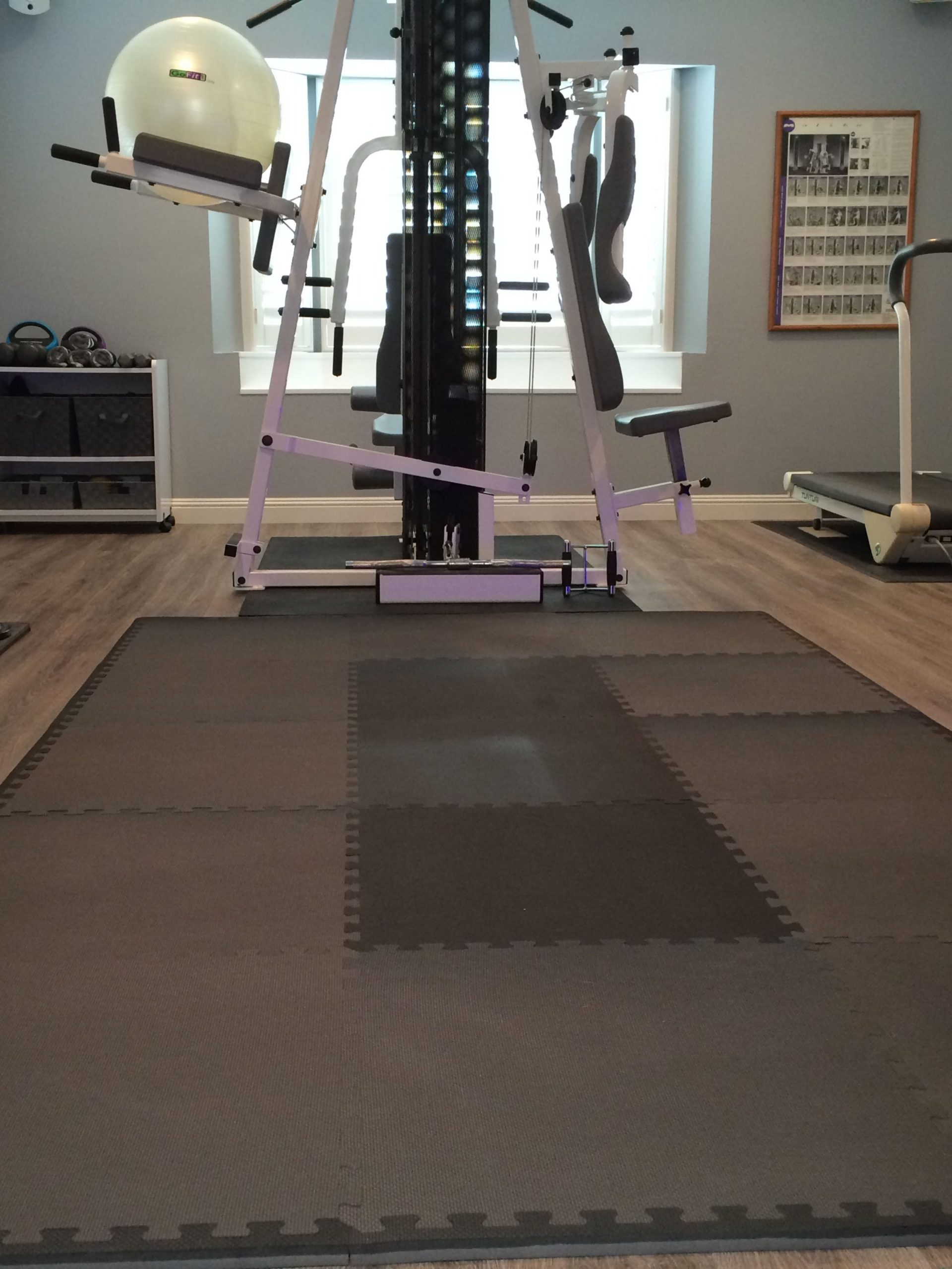 Foam Flooring for Gym - Humayun Interiors