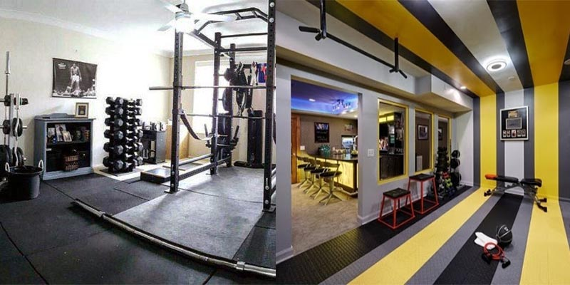 Gym Flooring Ideas - Humayun Interiors