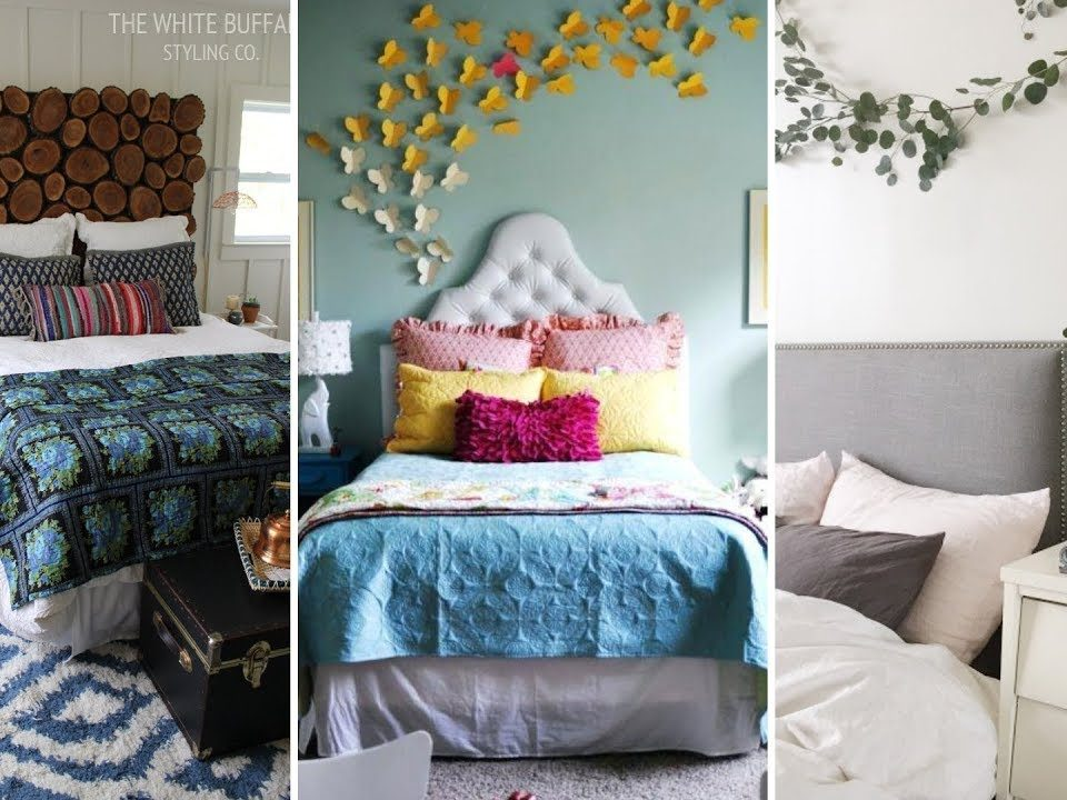 DIY Bedroom Decoration